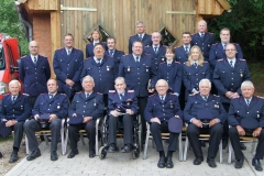Gruppenfotos Feuerwehr