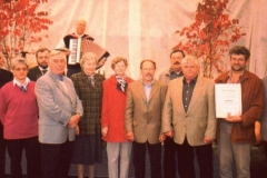 Landeswettbewerb Feier 2001