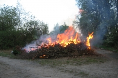 Osterfeuer 2011