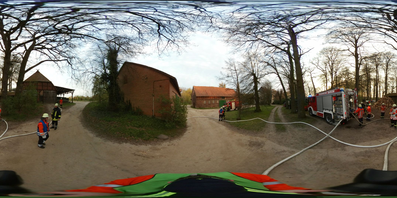 360-Grad-Bild der Übung