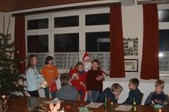 Weihnachtsfeier Kinder 2002